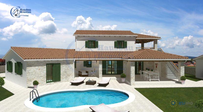 Hausbau Kroatien Villa Aurora
