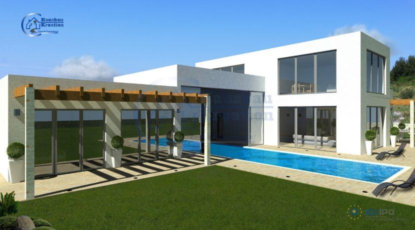 Hausbau Kroatien Villa Diana