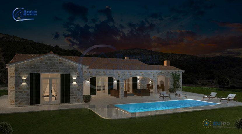 Hausbau Kroatien Villa Domina