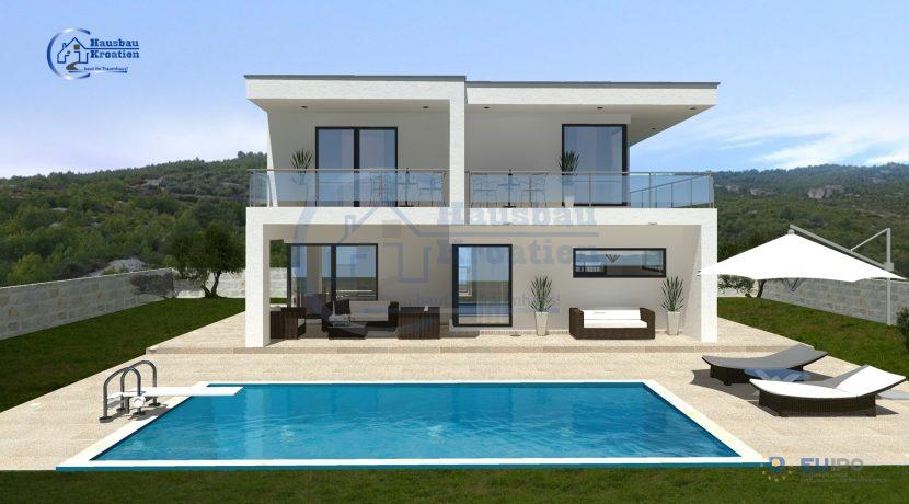 Hausbau Kroatien Villa Iva