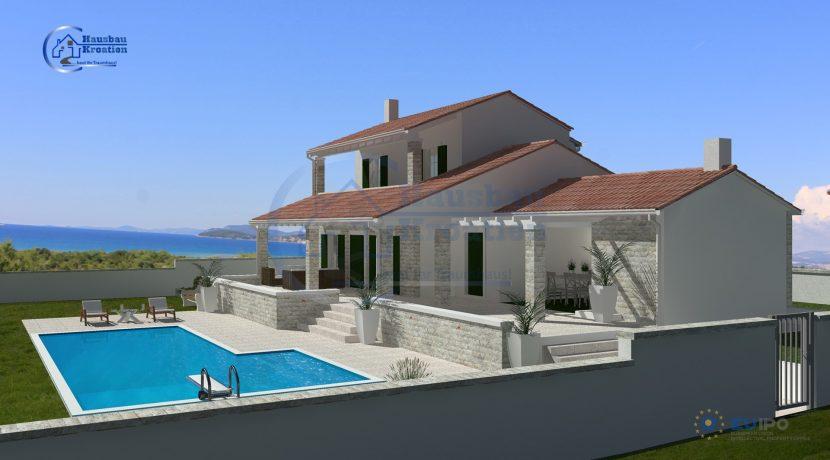 Hausbau Kroatien Villa Katarina