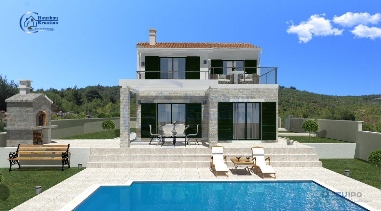 Hausbau Kroatien Villa Stella