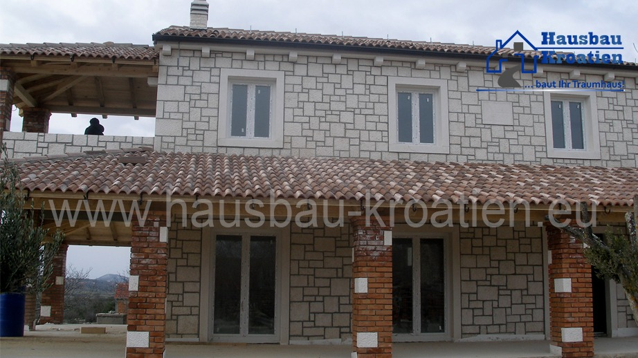 Steinhaus in Dalmatien