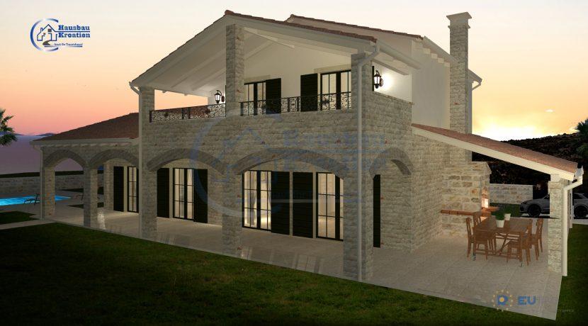 Hausbau Kroatien VillaLuna