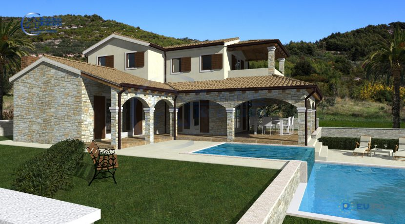 Hausbau Kroatien Villa Adrijana