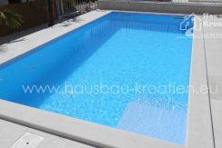 Schwimmbad in Tribunj Kroatien