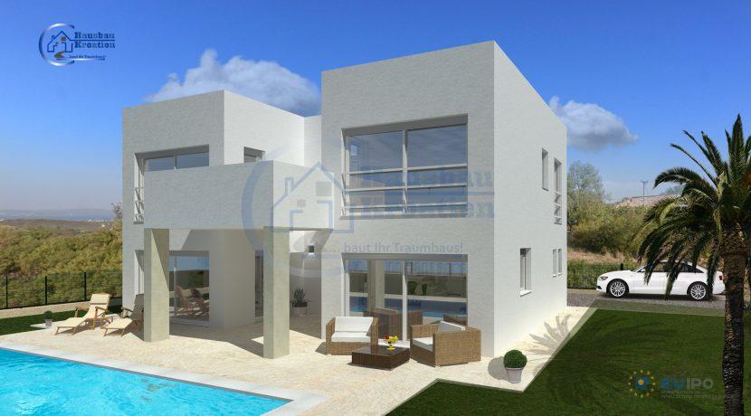 Hausbau Kroatien Villa Eva