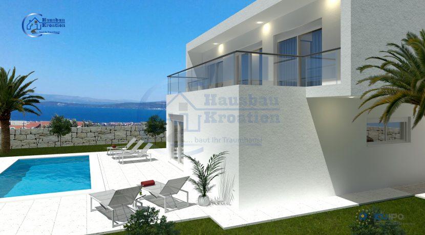Hausbau Kroatien Villa Nora