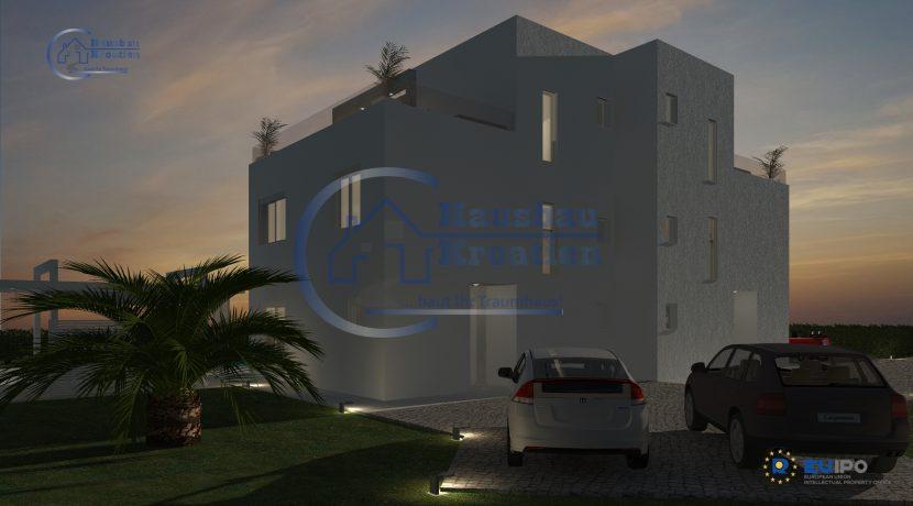 Hausbau Kroatien Doppelhaus Rosa (4)