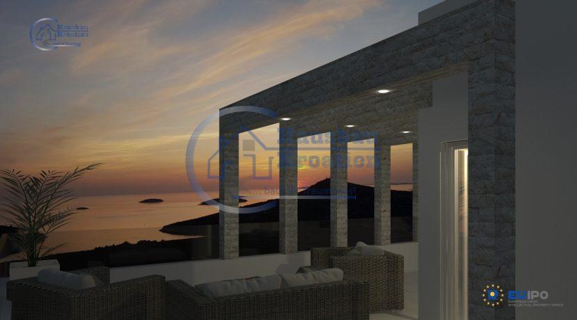 Hausbau Kroatien Doppelhaus Rosa (5)