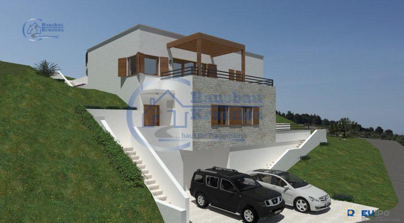Hausbau Kroatien Villa Zaton (4)