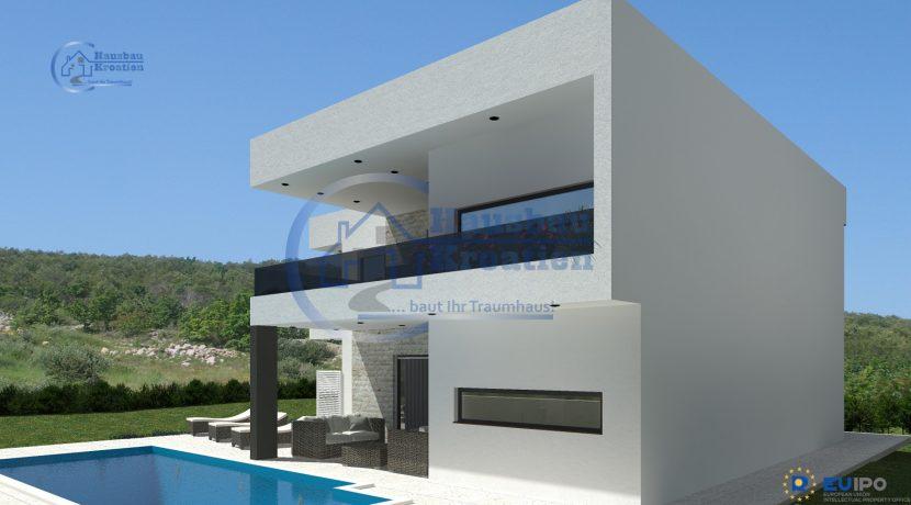 Hausbau Kroatien Villa Lorena (5)