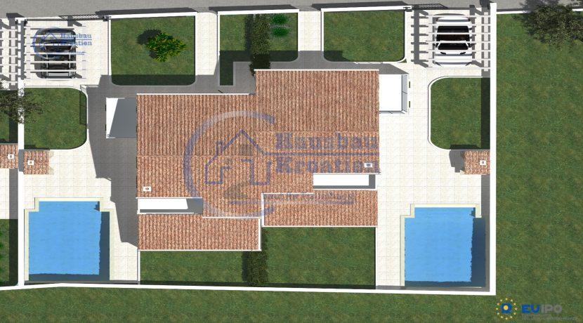 Hausbau Kroatien Doppelhaus (10)