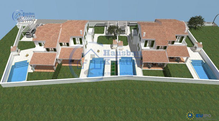 Hausbau Kroatien Doppelhaus (11)
