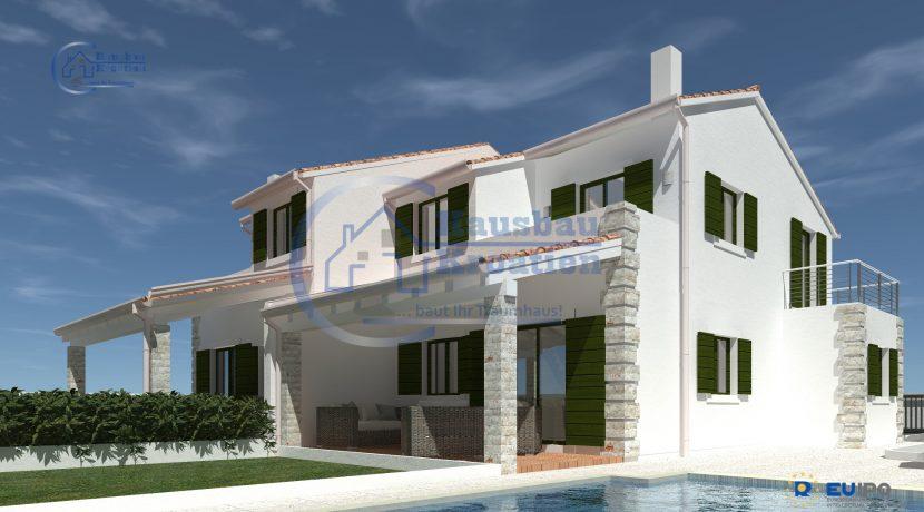 Hausbau Kroatien Doppelhaus (6)