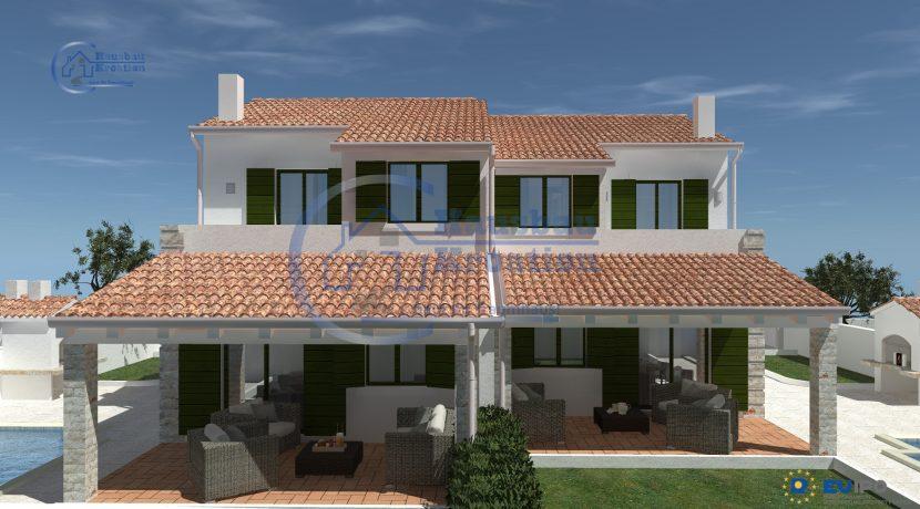 Hausbau Kroatien Doppelhaus (7)