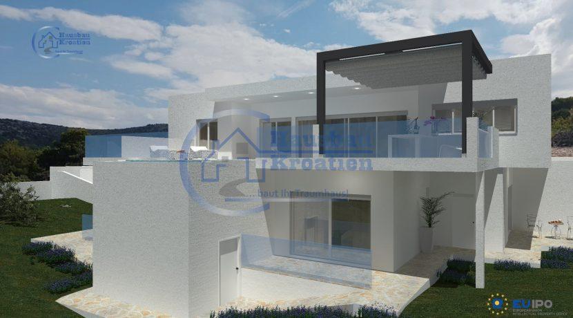 Hausbau Kroatien Villa Primosten I (4)