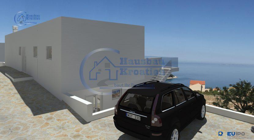 Hausbau Kroatien Villa Primosten I (9)
