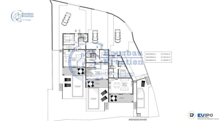 Villas in Vodice (1)