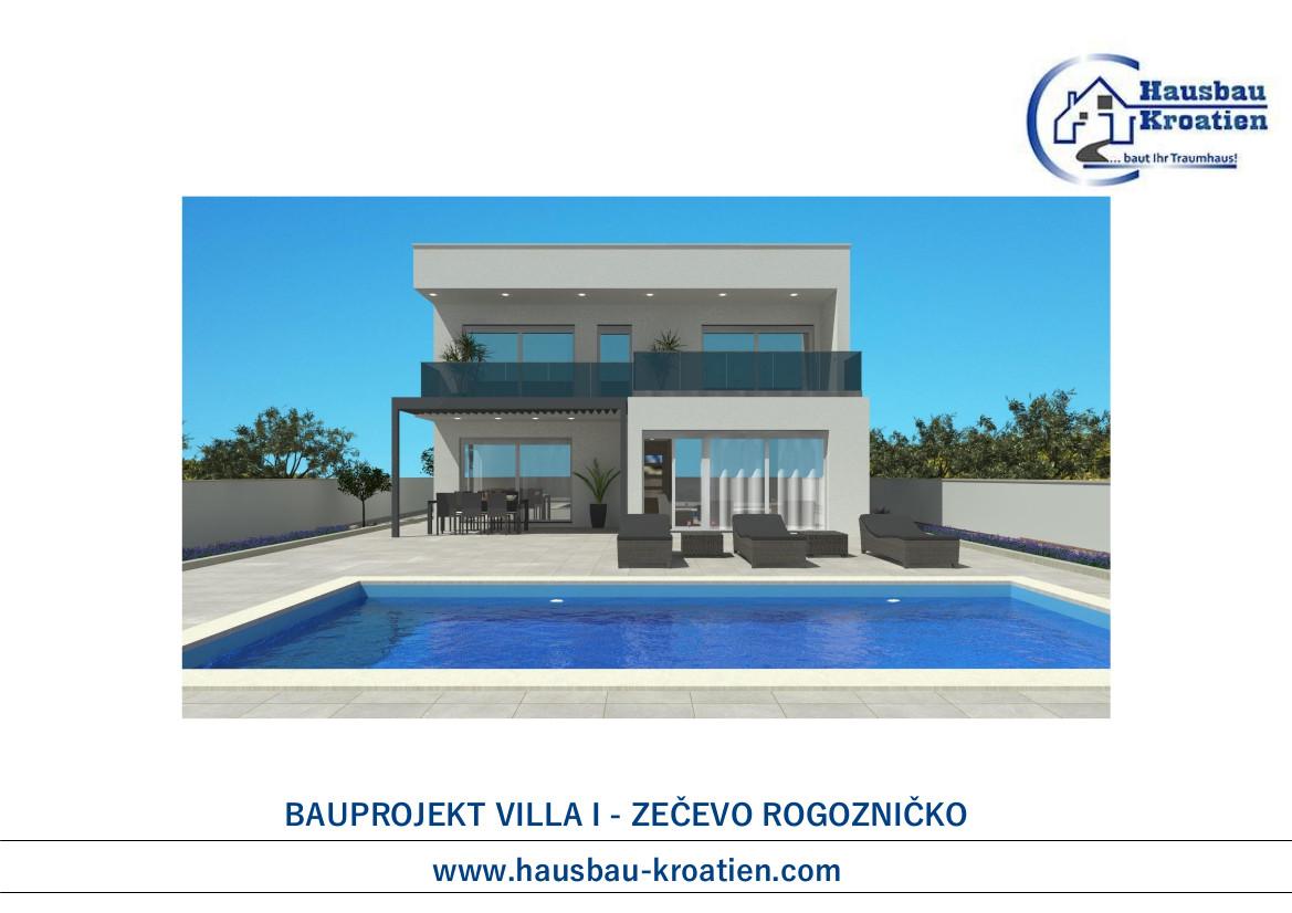 Bauprojekt Villa I Zecevo Rogoznicko