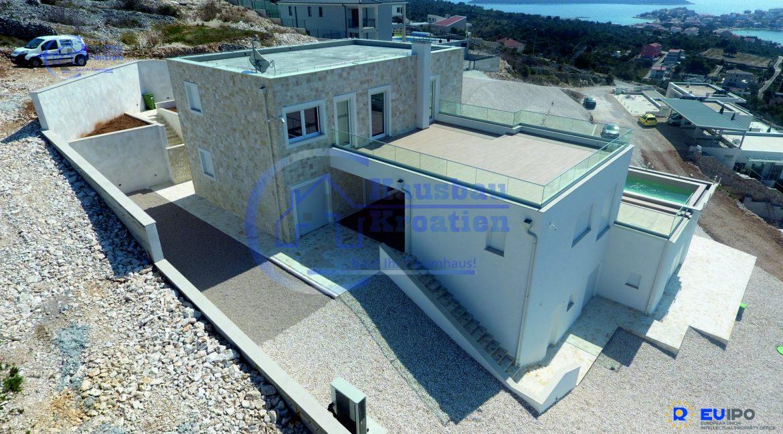 Hausbau Kroatien Villa Sevid